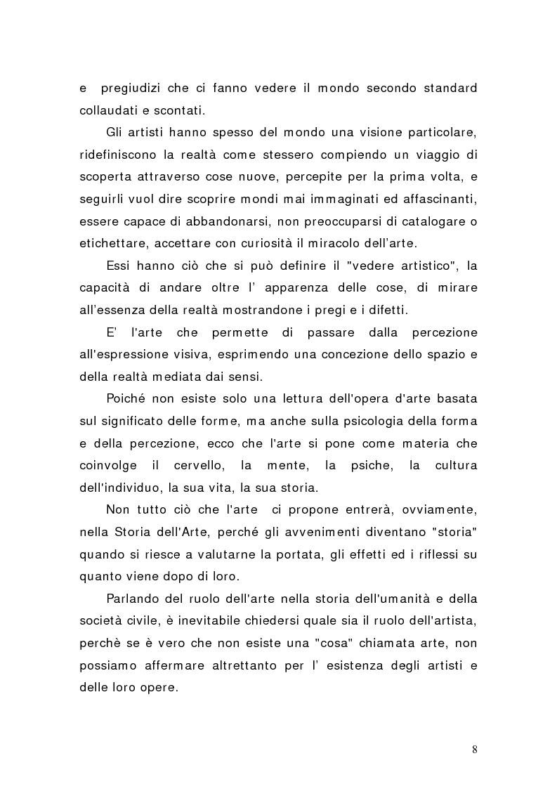 Anteprima della tesi: Artisti e mercati del lavoro: dinamiche occupazionali, Pagina 4