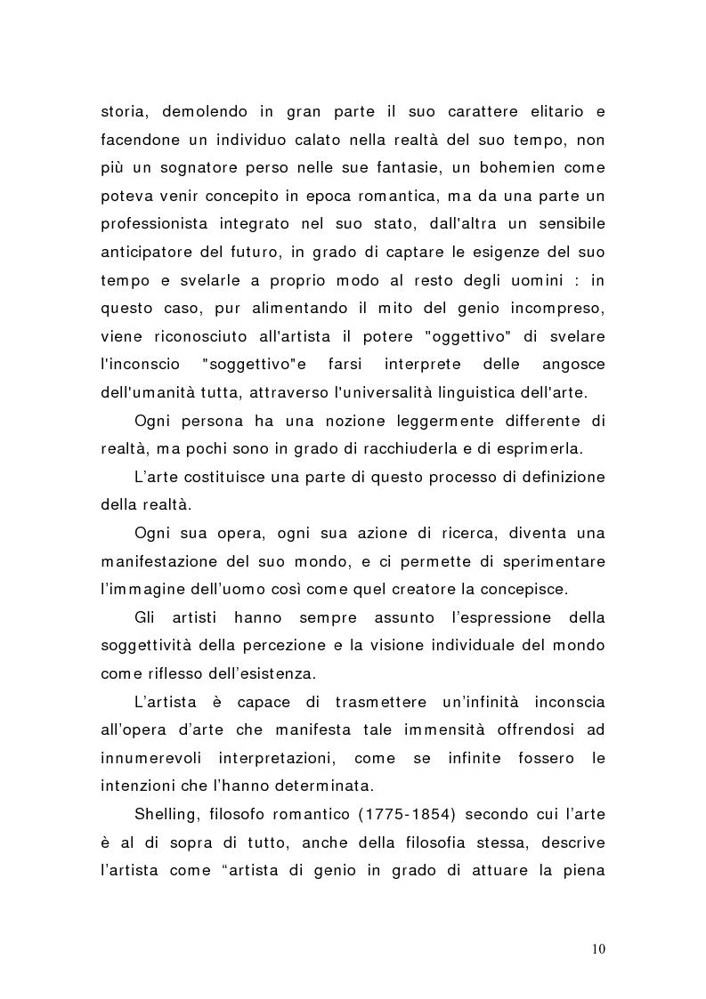 Anteprima della tesi: Artisti e mercati del lavoro: dinamiche occupazionali, Pagina 6