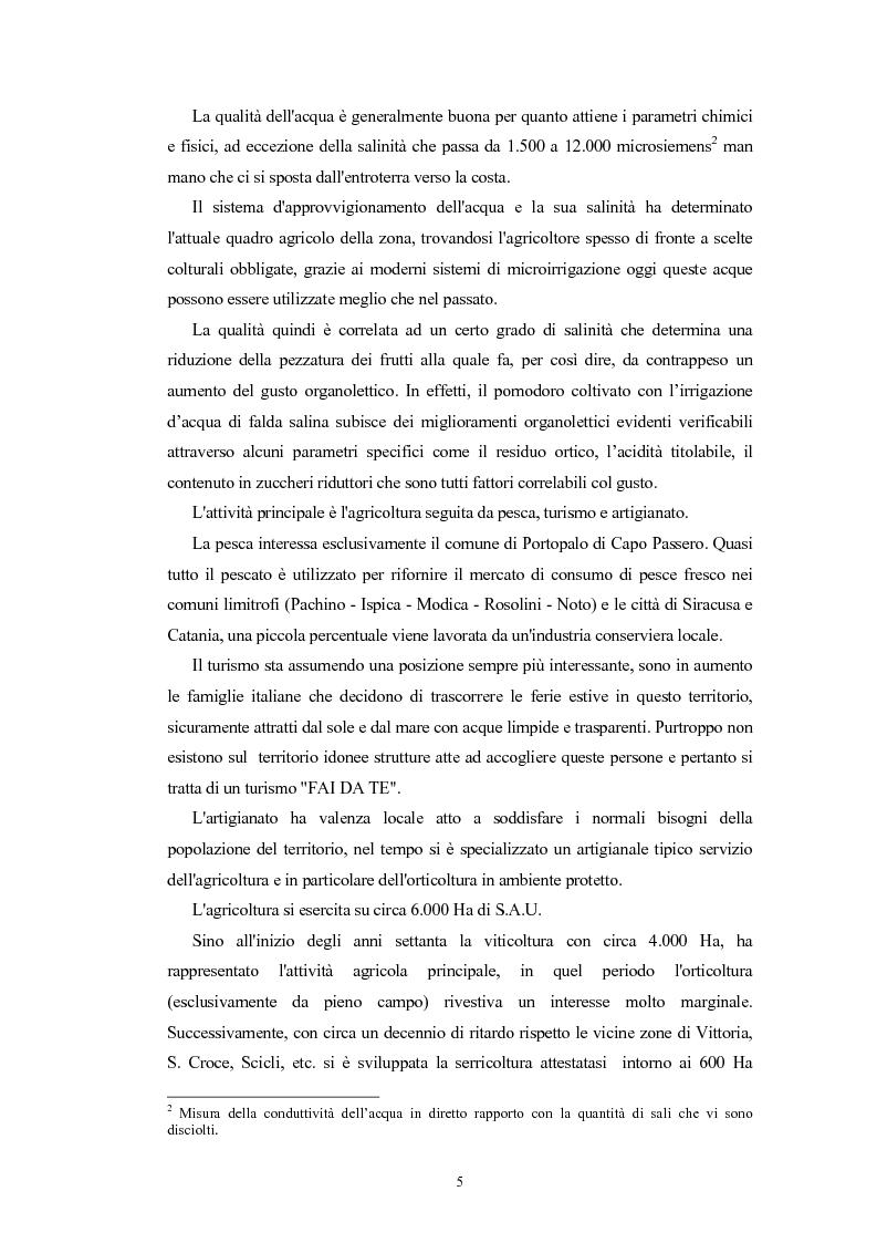 Anteprima della tesi: L'Indicazione Geografica Protetta ''Pomodoro di Pachino'', Pagina 4