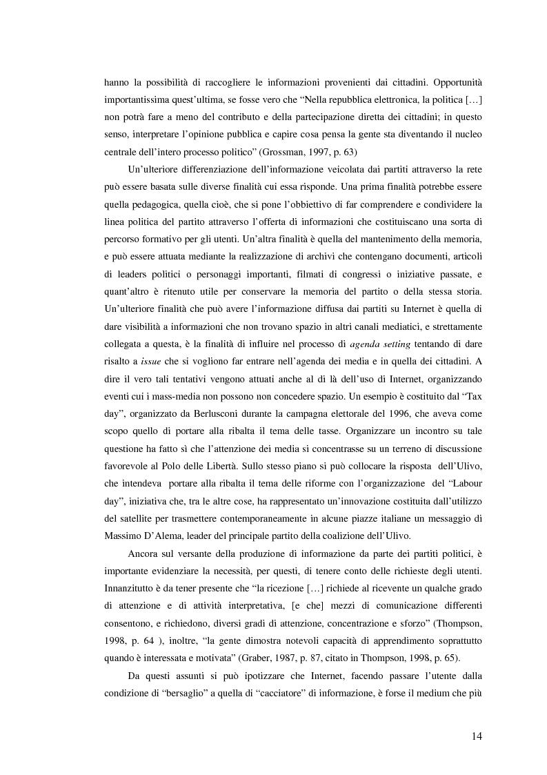 Anteprima della tesi: I giovani di sinistra online, Pagina 11