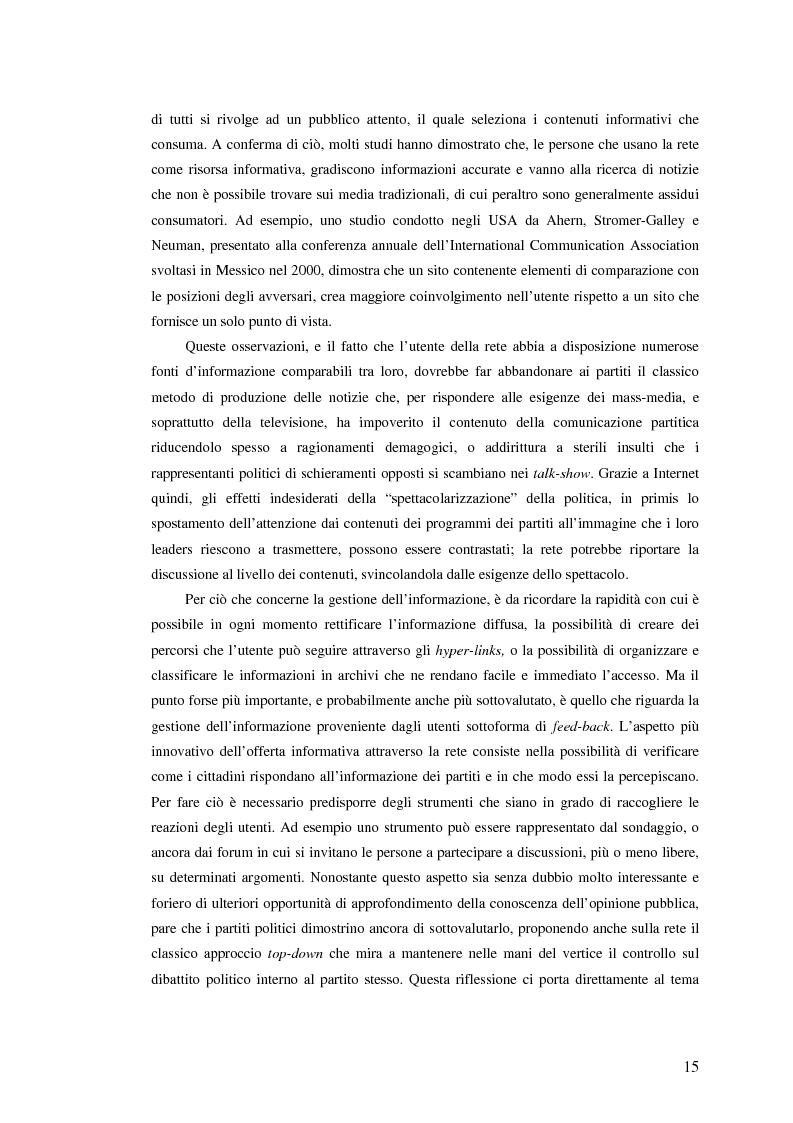 Anteprima della tesi: I giovani di sinistra online, Pagina 12