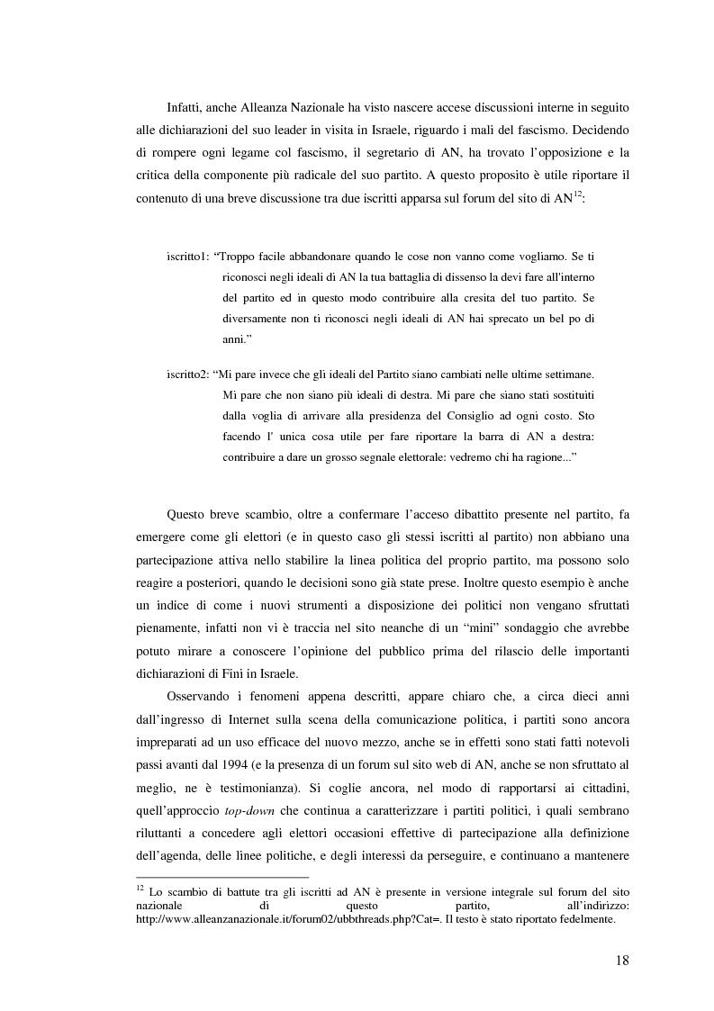Anteprima della tesi: I giovani di sinistra online, Pagina 15