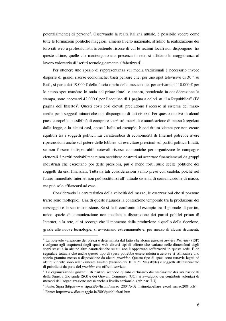 Anteprima della tesi: I giovani di sinistra online, Pagina 3