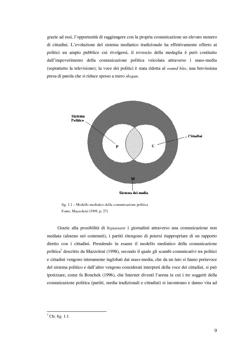 Anteprima della tesi: I giovani di sinistra online, Pagina 6