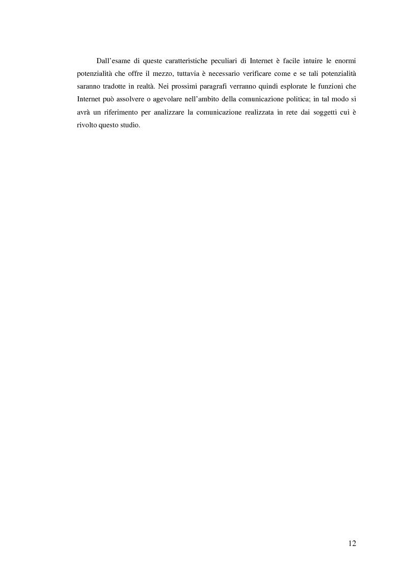 Anteprima della tesi: I giovani di sinistra online, Pagina 9