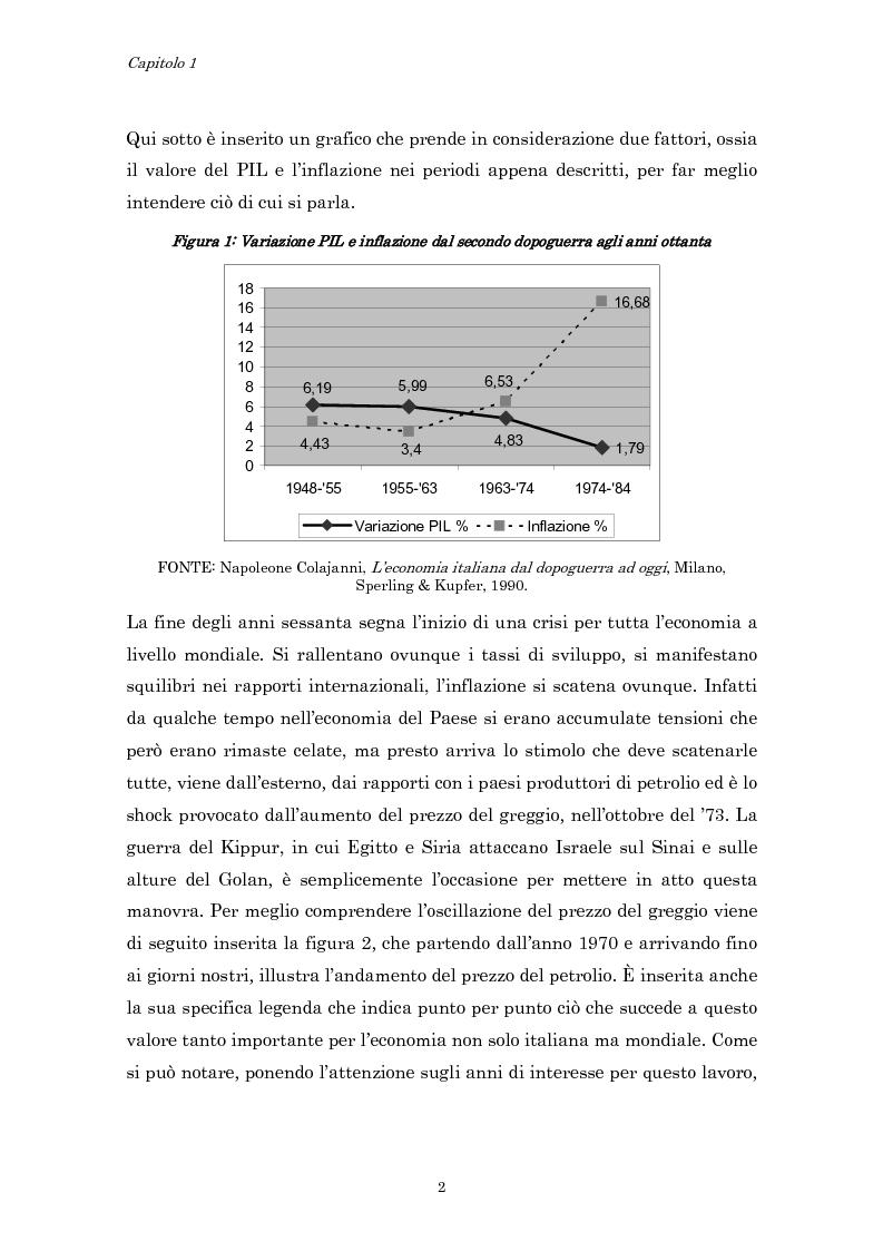 Anteprima della tesi: Crisi economica, strategie aziendali e comunicative: il caso Barilla (1973-1985), Pagina 5