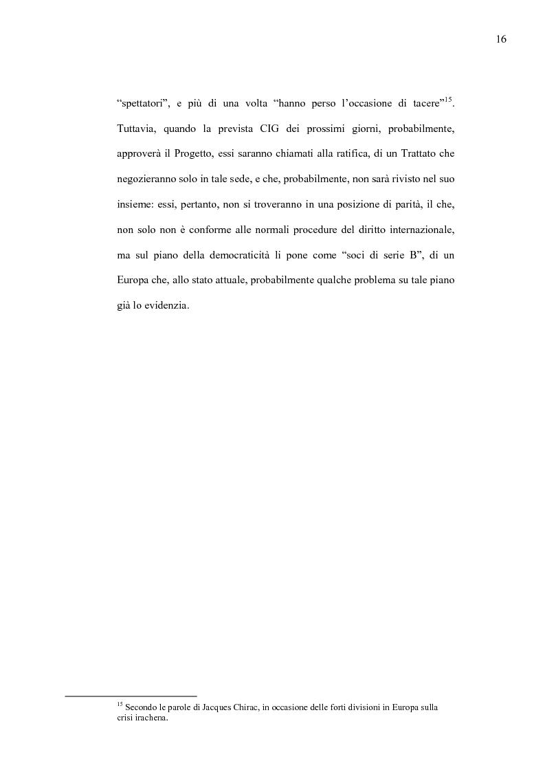 Anteprima della tesi: La Costituzione Europea tra Diritto Internazionale e Potere Costituente, Pagina 12