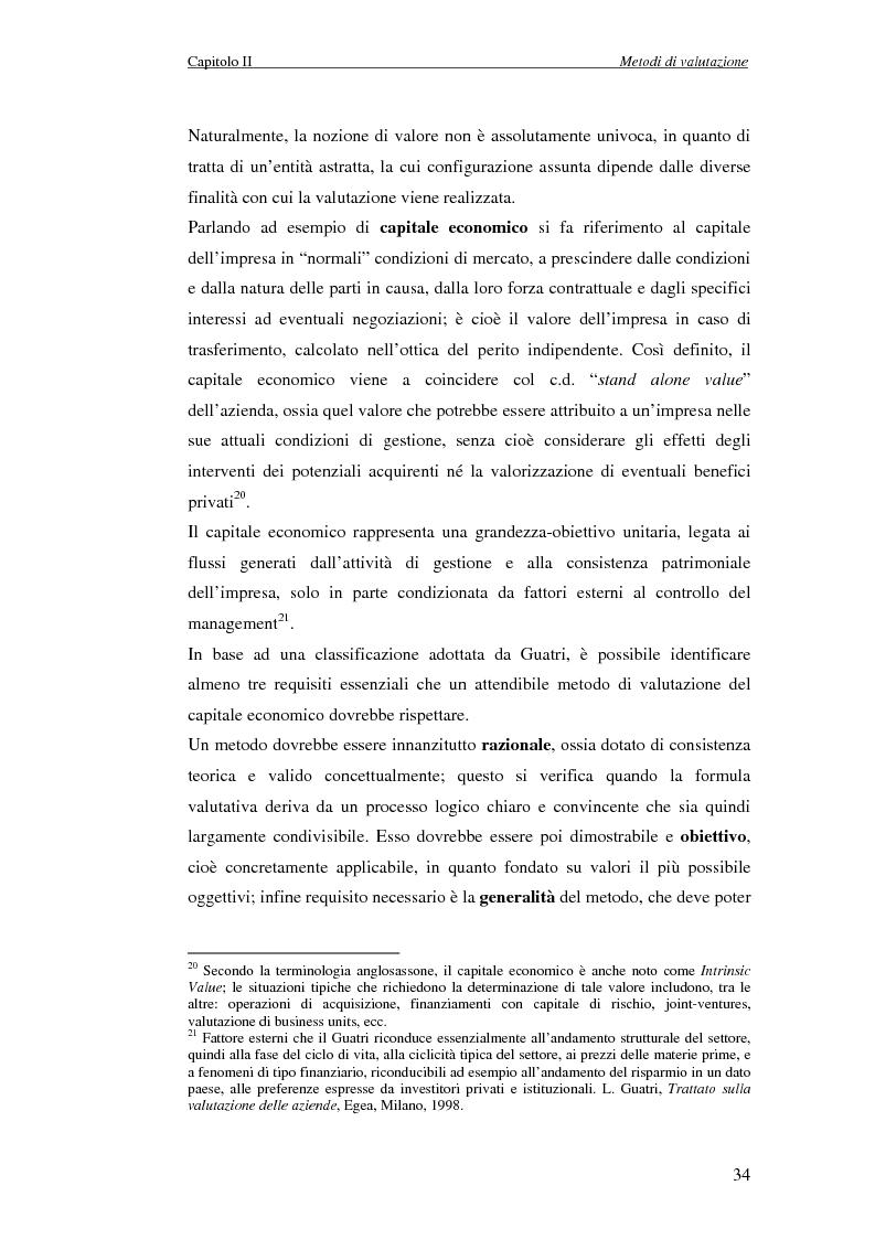Estratto dalla tesi: Creazione di Valore nel Settore delle Acque Minerali: il caso San Benedetto S.P.A.