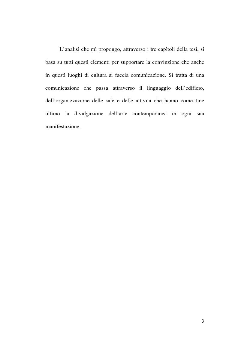 Anteprima della tesi: Il museo come spazio di comunicazione: El Museo Nacional Centro de Arte Reina Sofia di Madrid, Pagina 3