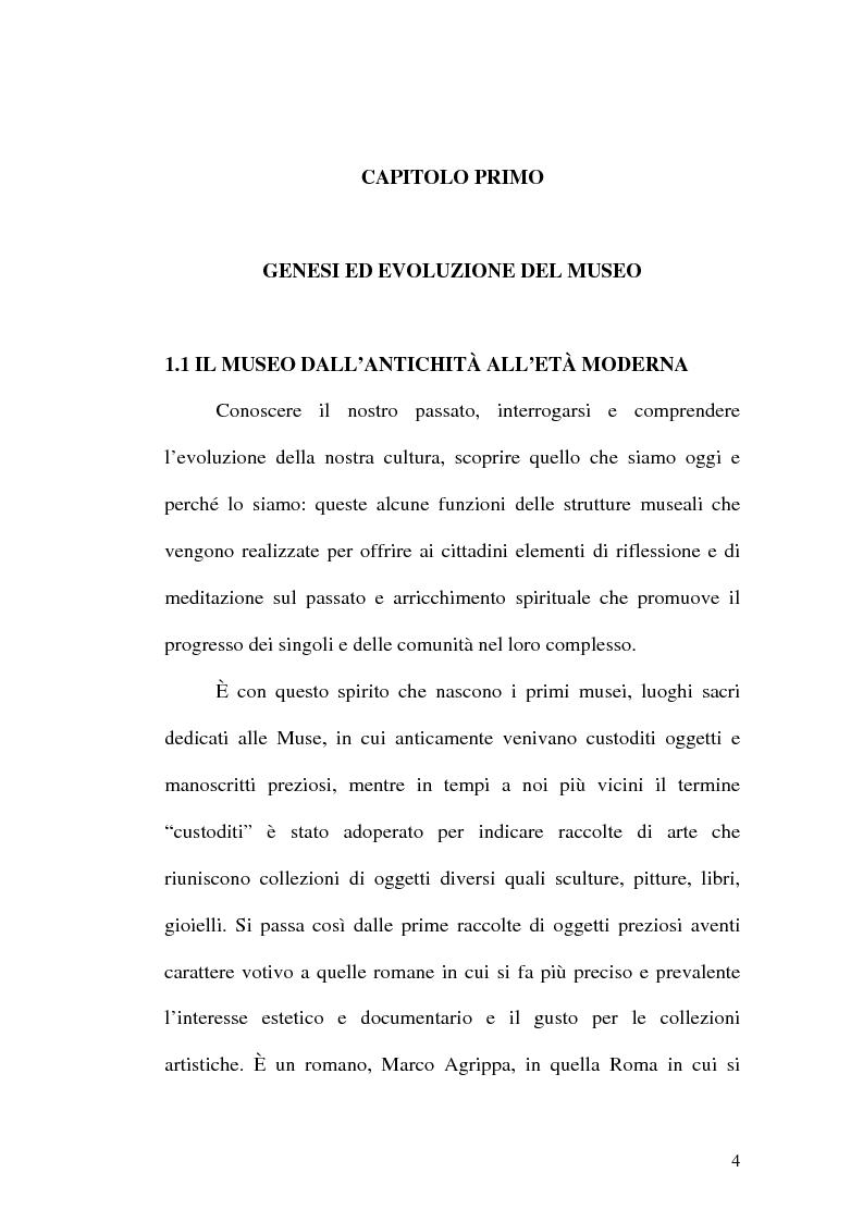 Anteprima della tesi: Il museo come spazio di comunicazione: El Museo Nacional Centro de Arte Reina Sofia di Madrid, Pagina 4