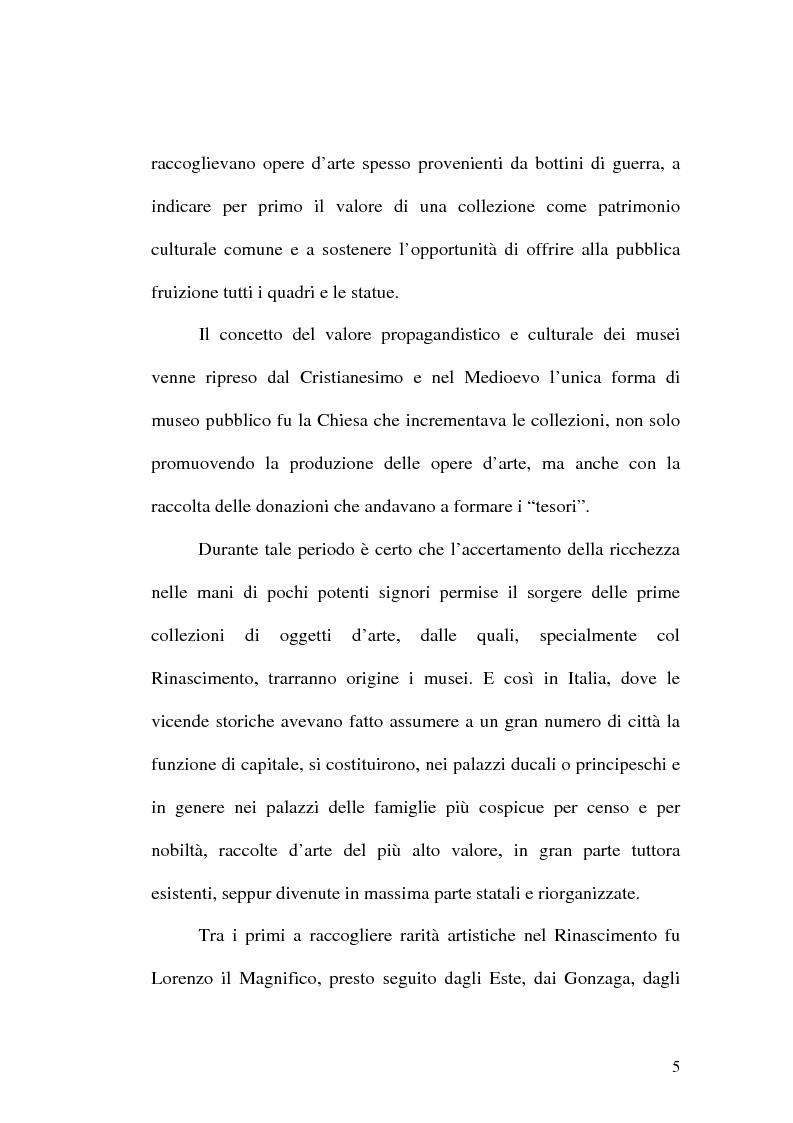 Anteprima della tesi: Il museo come spazio di comunicazione: El Museo Nacional Centro de Arte Reina Sofia di Madrid, Pagina 5