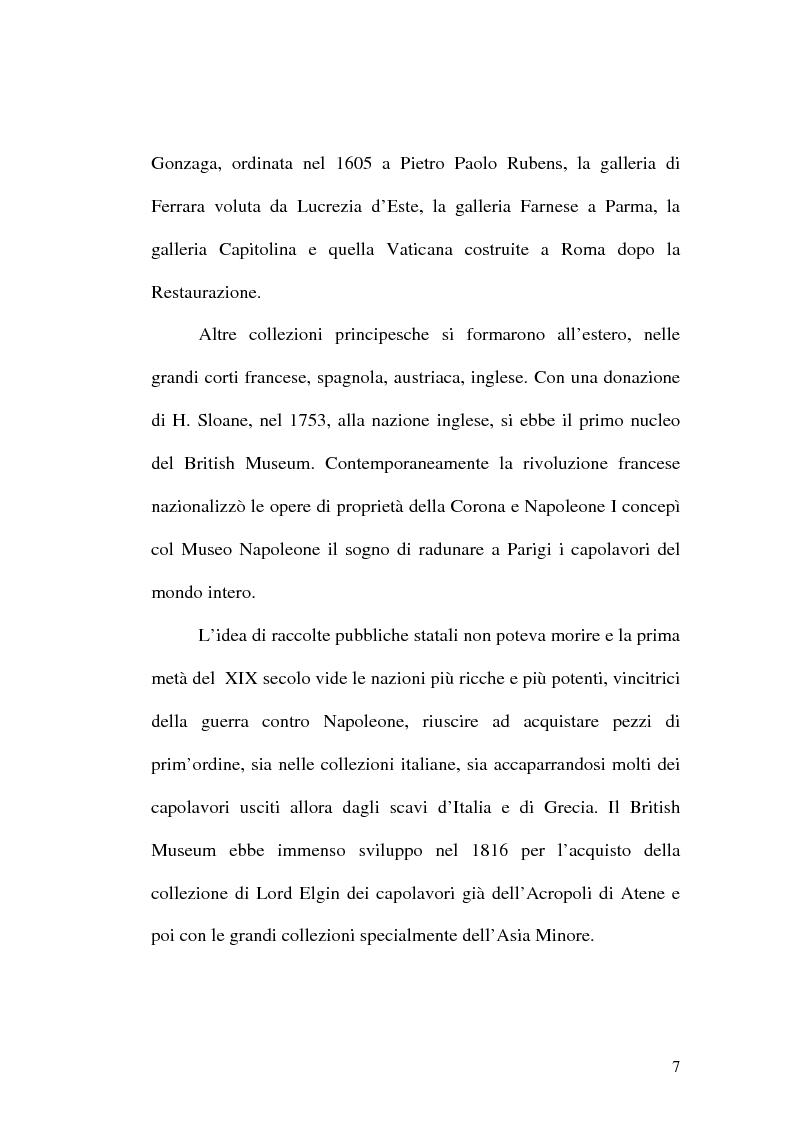 Anteprima della tesi: Il museo come spazio di comunicazione: El Museo Nacional Centro de Arte Reina Sofia di Madrid, Pagina 7