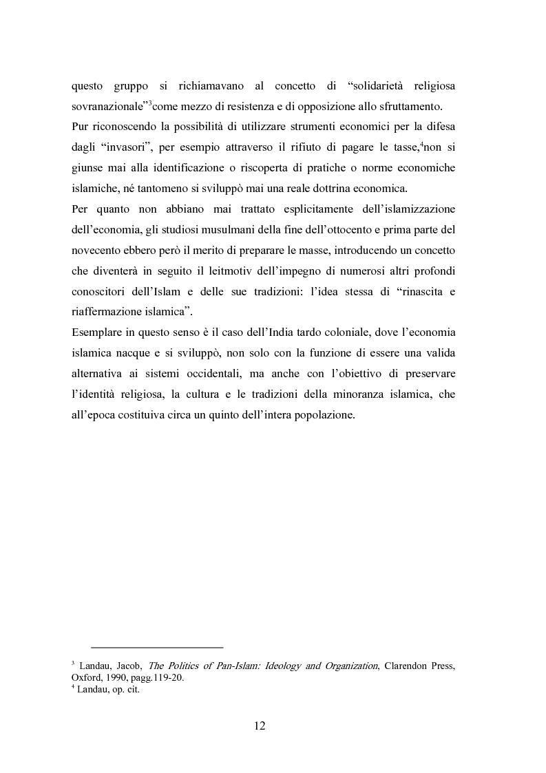 Anteprima della tesi: Il modello economico islamico Aspetti socio-economici ed etici, Pagina 12