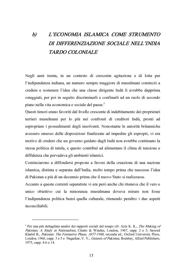 Anteprima della tesi: Il modello economico islamico Aspetti socio-economici ed etici, Pagina 13