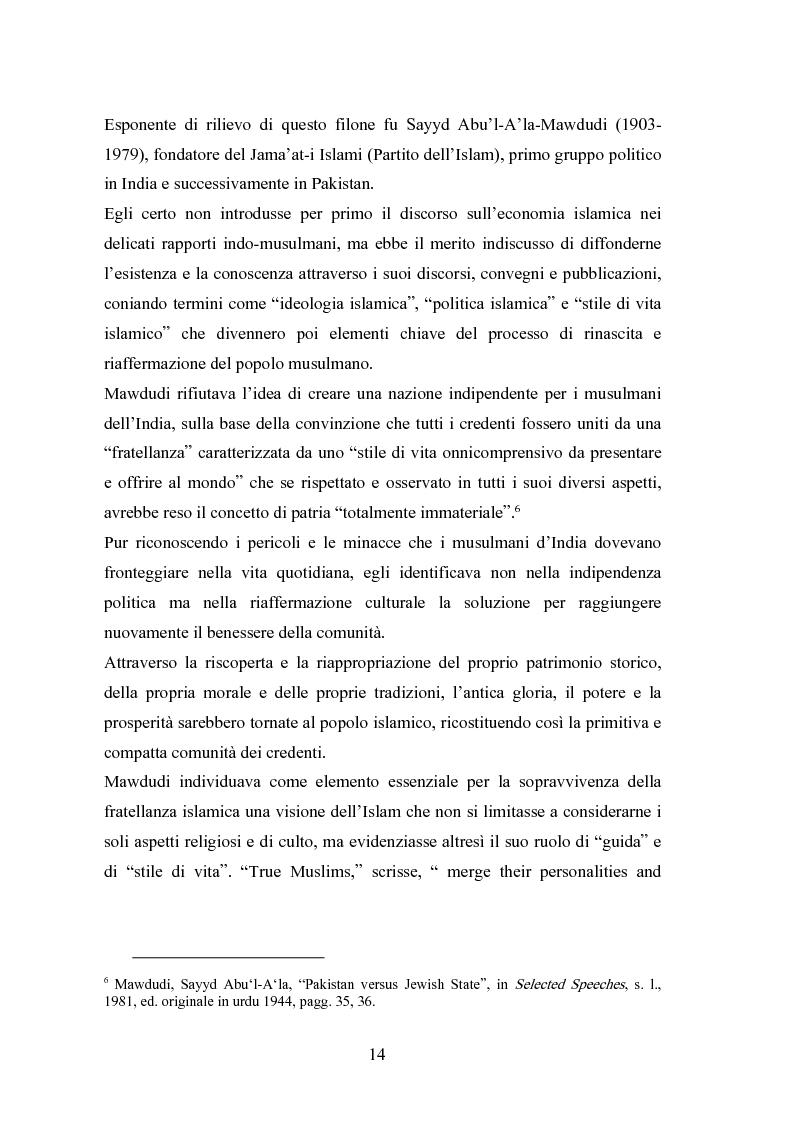 Anteprima della tesi: Il modello economico islamico Aspetti socio-economici ed etici, Pagina 14