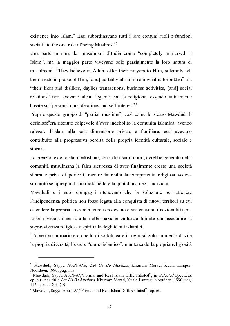 Anteprima della tesi: Il modello economico islamico Aspetti socio-economici ed etici, Pagina 15