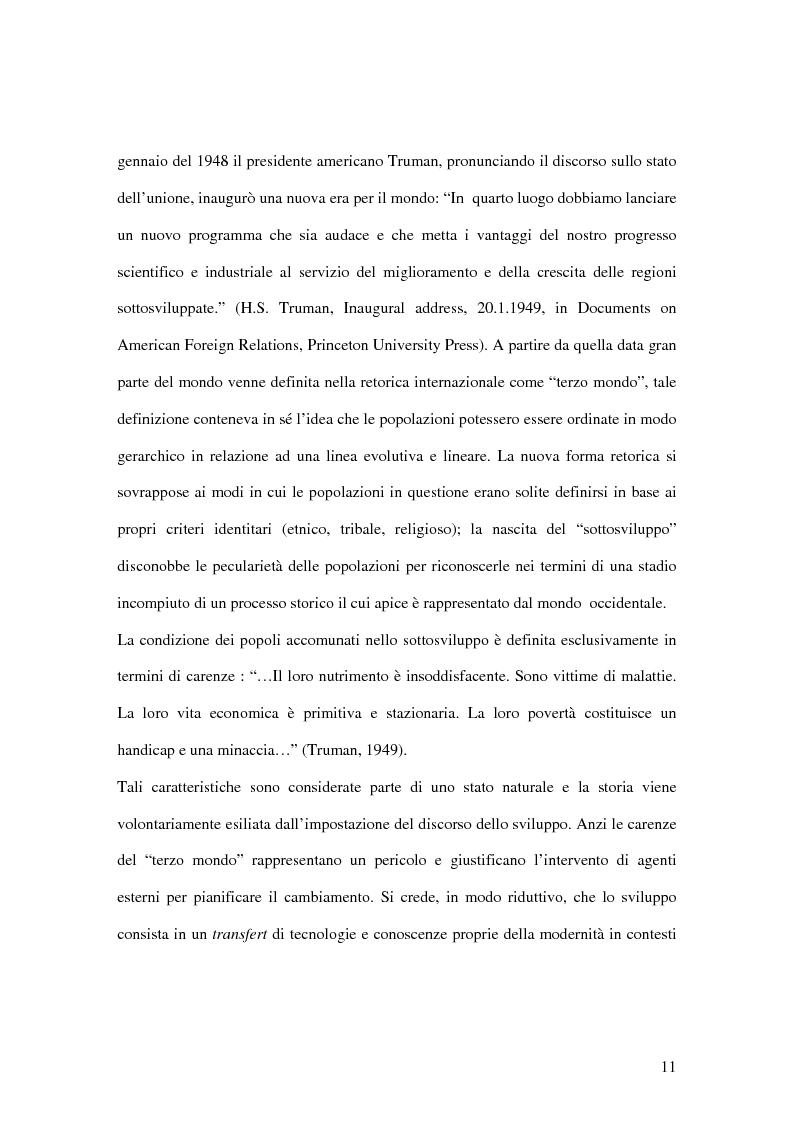 Anteprima della tesi: L'acqua tra pratiche discorsive e realtà: le dimensioni sociali, culturali e simboliche nella gestione delle risorse idriche, Pagina 7