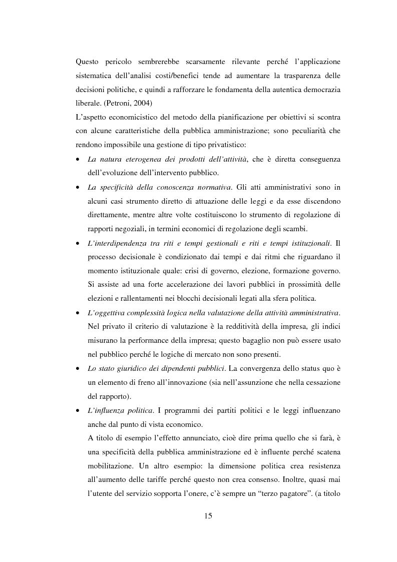 Anteprima della tesi: Semplificazione e partecipazione nella pubblica amministrazione. L'esperienza della A.S.L. di Cremona, Pagina 11
