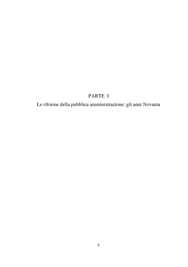 Anteprima della tesi: Semplificazione e partecipazione nella pubblica amministrazione. L'esperienza della A.S.L. di Cremona, Pagina 4