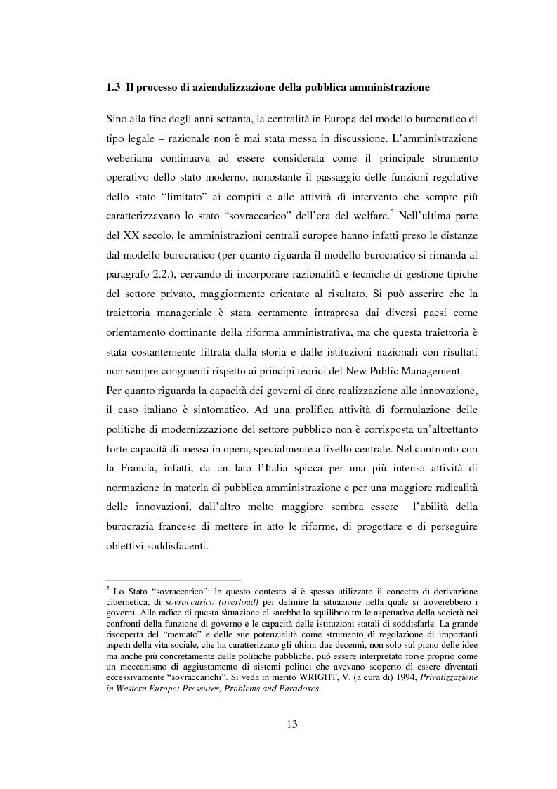 Anteprima della tesi: Semplificazione e partecipazione nella pubblica amministrazione. L'esperienza della A.S.L. di Cremona, Pagina 9