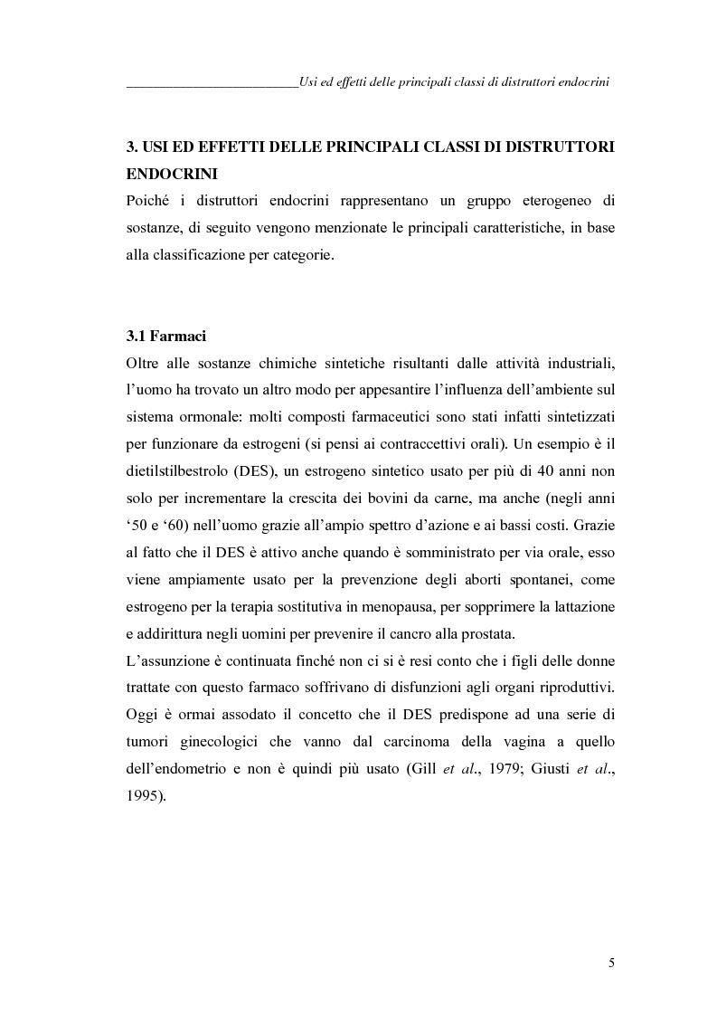 Anteprima della tesi: Alchilfenoli e metalli pesanti ad attività endocrino-mometica: possibili interazioni, Pagina 5