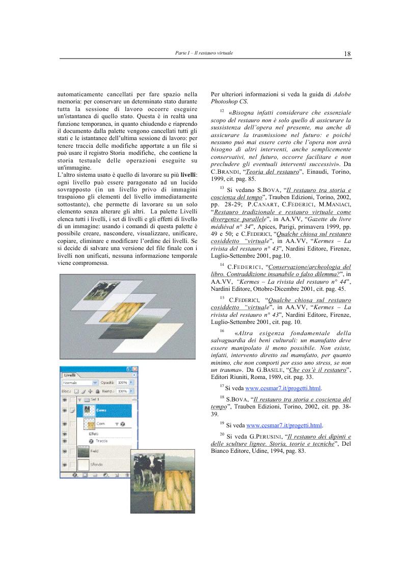 Anteprima della tesi: Il restauro virtuale, Pagina 13