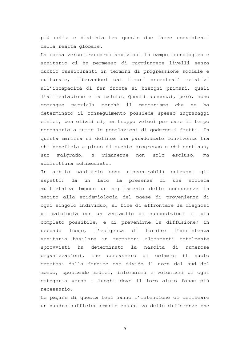Anteprima della tesi: Patologie urologiche e welfare: confronto tra realtà italiana e di alcune aree del Sud America, Pagina 2