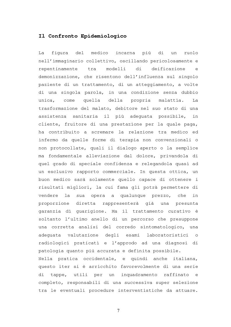 Anteprima della tesi: Patologie urologiche e welfare: confronto tra realtà italiana e di alcune aree del Sud America, Pagina 4