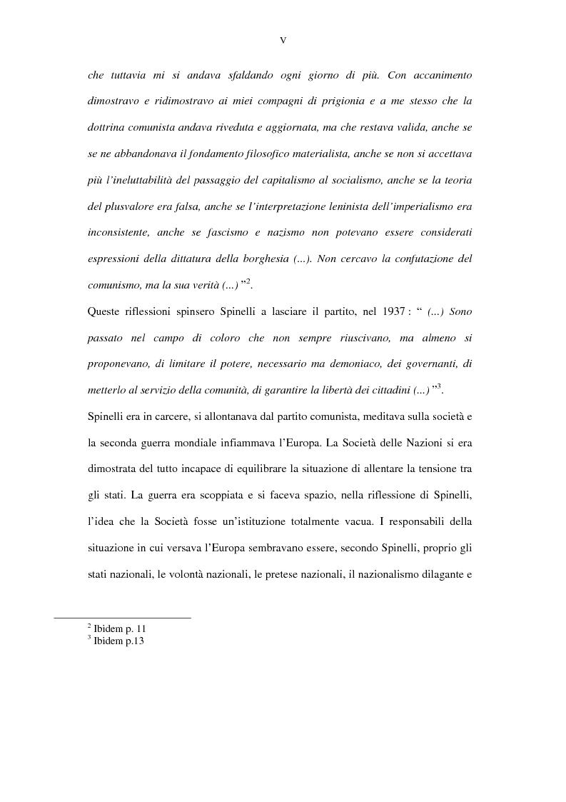 Anteprima della tesi: La lunga battaglia di Altiero Spinelli e del Club del Coccodrillo, Pagina 2