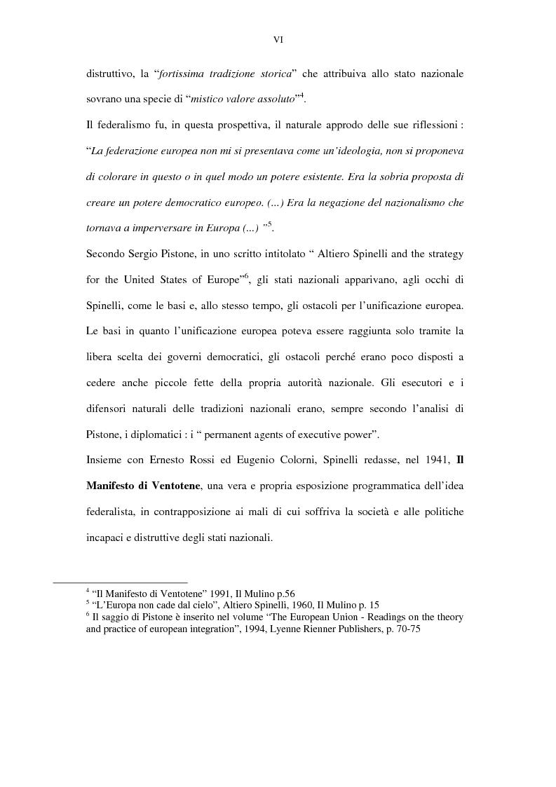 Anteprima della tesi: La lunga battaglia di Altiero Spinelli e del Club del Coccodrillo, Pagina 3