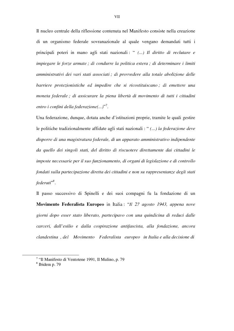 Anteprima della tesi: La lunga battaglia di Altiero Spinelli e del Club del Coccodrillo, Pagina 4