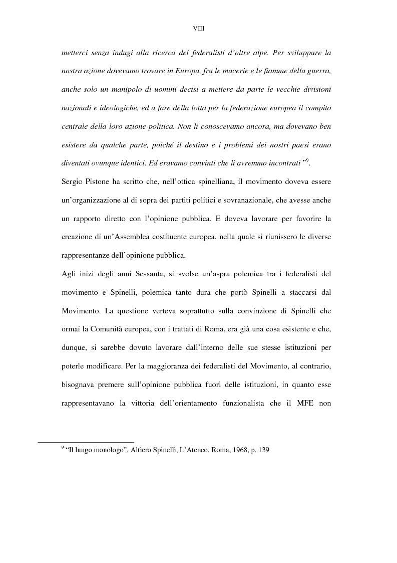 Anteprima della tesi: La lunga battaglia di Altiero Spinelli e del Club del Coccodrillo, Pagina 5