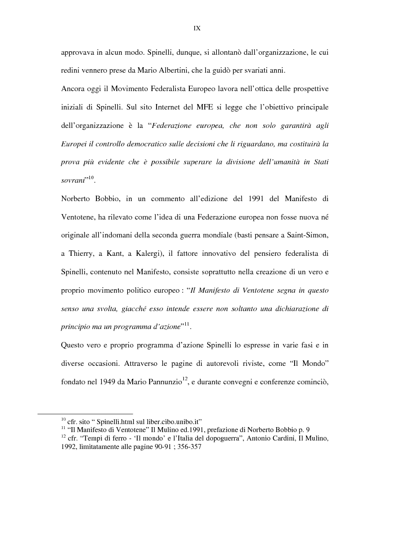 Anteprima della tesi: La lunga battaglia di Altiero Spinelli e del Club del Coccodrillo, Pagina 6