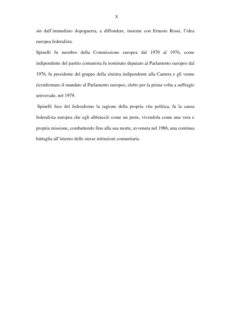 Anteprima della tesi: La lunga battaglia di Altiero Spinelli e del Club del Coccodrillo, Pagina 7