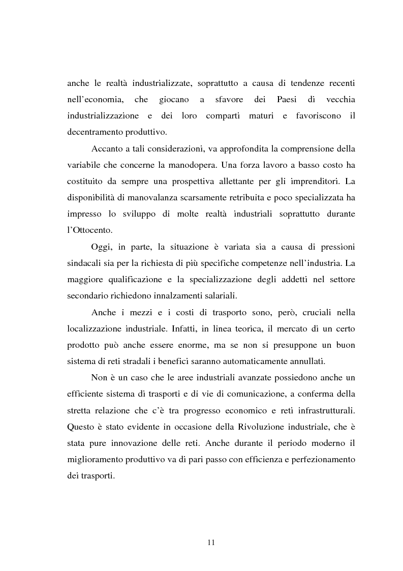 Anteprima della tesi: Il fenomeno della deindustrializzazione in Germania: ipotesi di riconversione funzionale a Duisburg e Düsseldorf, Pagina 11