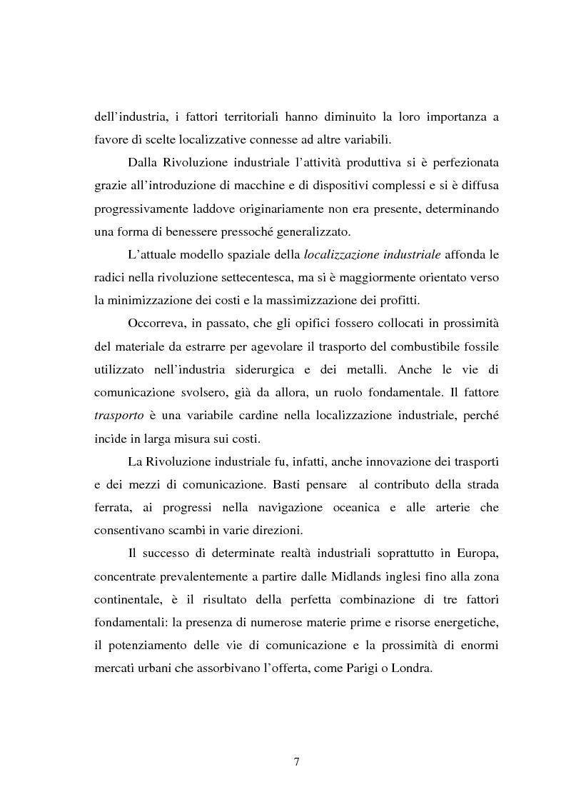 Anteprima della tesi: Il fenomeno della deindustrializzazione in Germania: ipotesi di riconversione funzionale a Duisburg e Düsseldorf, Pagina 7