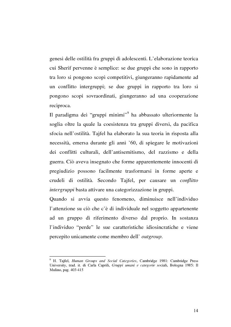 Anteprima della tesi: Strategie interpretative per la costruzione sociale della telerealtà, Pagina 14