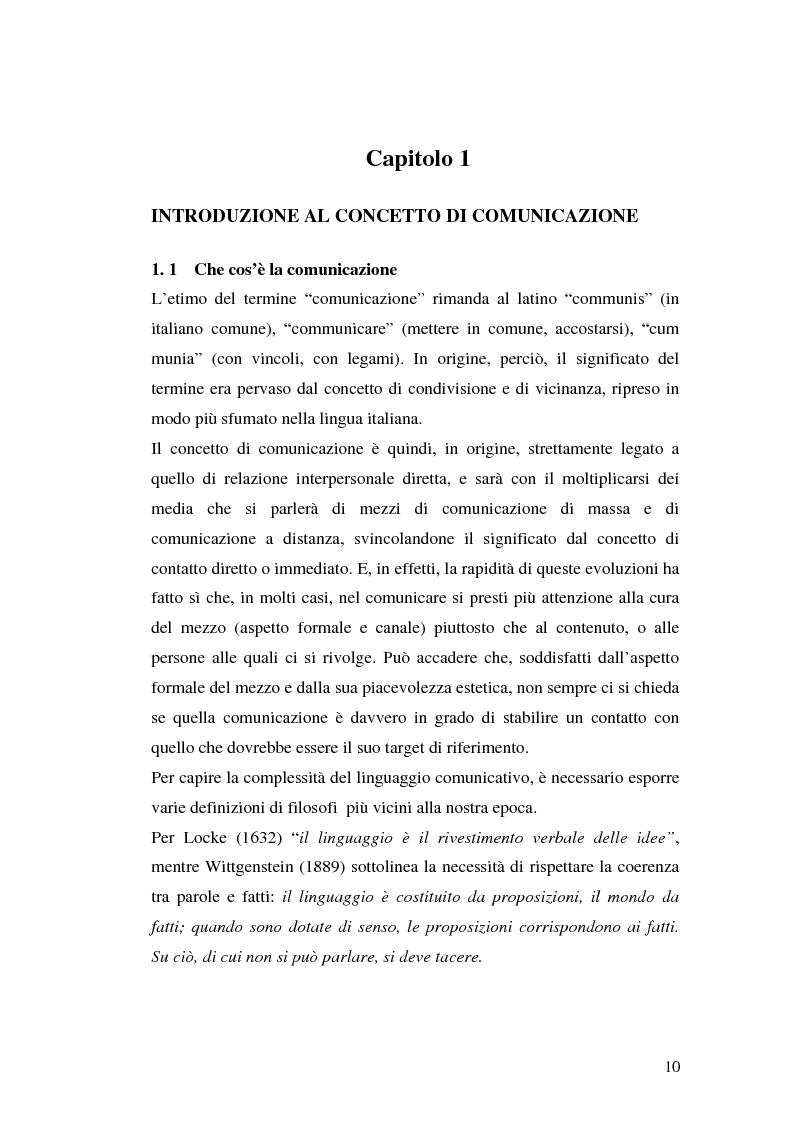 Anteprima della tesi: La comunicazione pubblicitaria delle imprese di servizi, Pagina 6