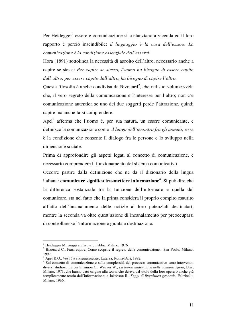 Anteprima della tesi: La comunicazione pubblicitaria delle imprese di servizi, Pagina 7