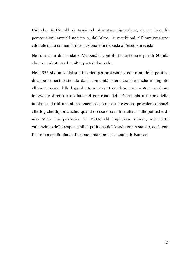 Anteprima della tesi: I beneficiari dell'attività dell'Alto Commissariato delle Nazioni Unite per i Rifugiati., Pagina 7
