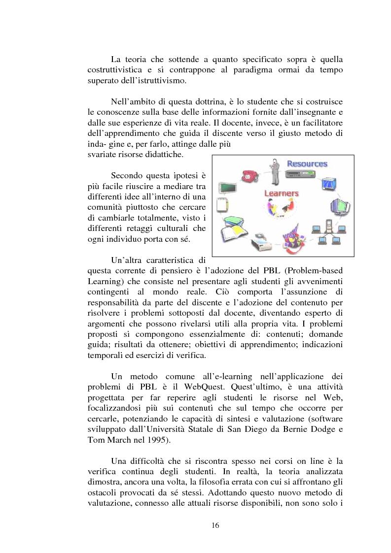 Estratto dalla tesi: I servizi di e-learning distribuiti su reti WiFi