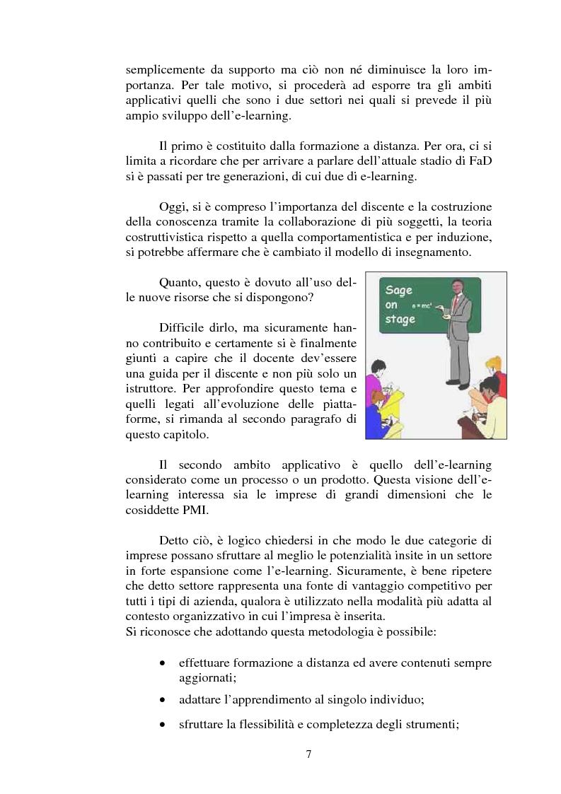 Anteprima della tesi: I servizi di e-learning distribuiti su reti WiFi, Pagina 4