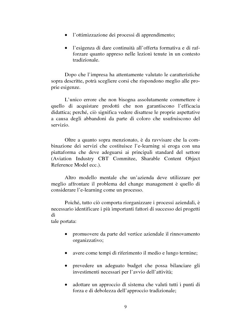 Anteprima della tesi: I servizi di e-learning distribuiti su reti WiFi, Pagina 6