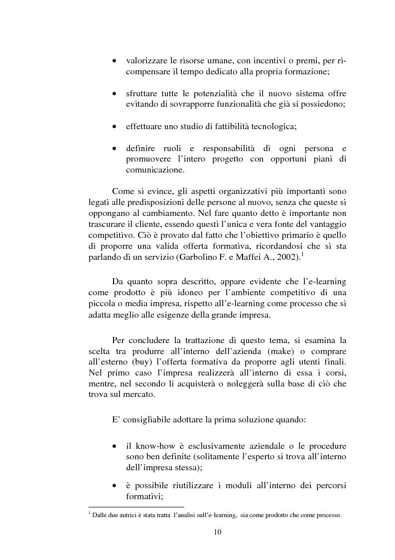 Anteprima della tesi: I servizi di e-learning distribuiti su reti WiFi, Pagina 7