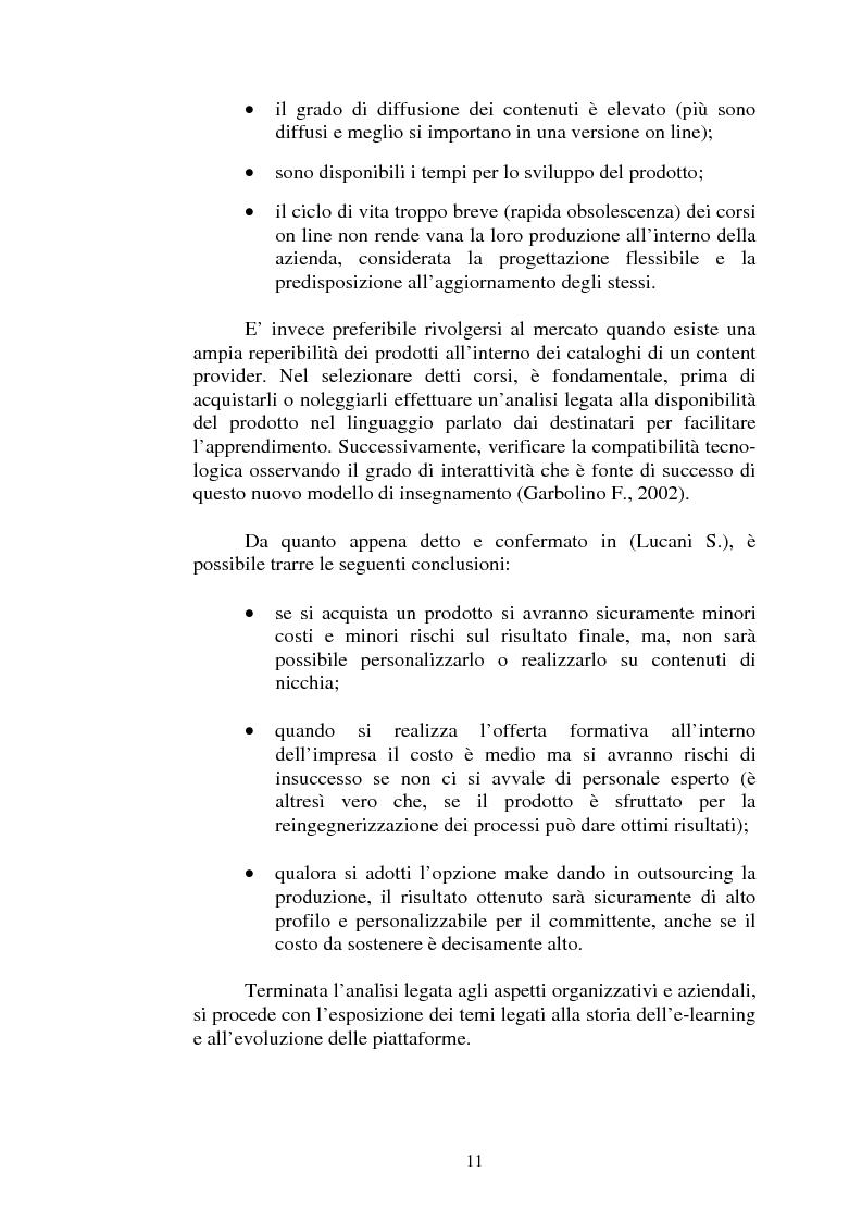Anteprima della tesi: I servizi di e-learning distribuiti su reti WiFi, Pagina 8