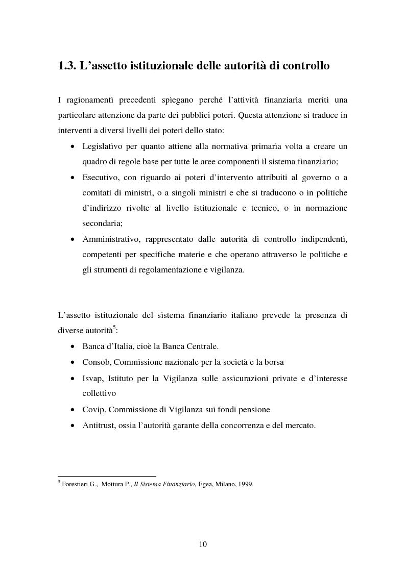 Anteprima della tesi: Il fallimento del sistema dei controlli interni ed esterni nel caso Parmalat, Pagina 10