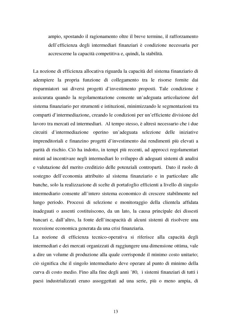 Anteprima della tesi: Il fallimento del sistema dei controlli interni ed esterni nel caso Parmalat, Pagina 13