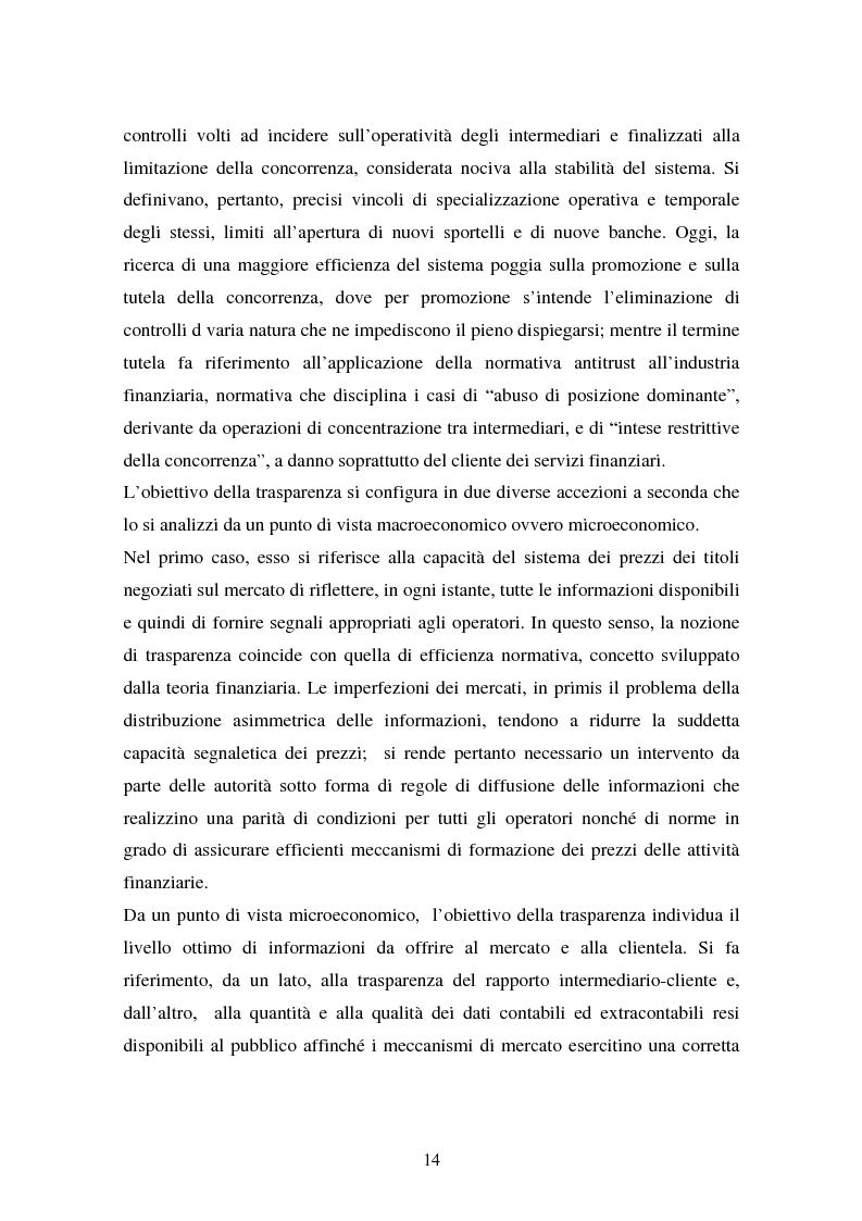 Anteprima della tesi: Il fallimento del sistema dei controlli interni ed esterni nel caso Parmalat, Pagina 14