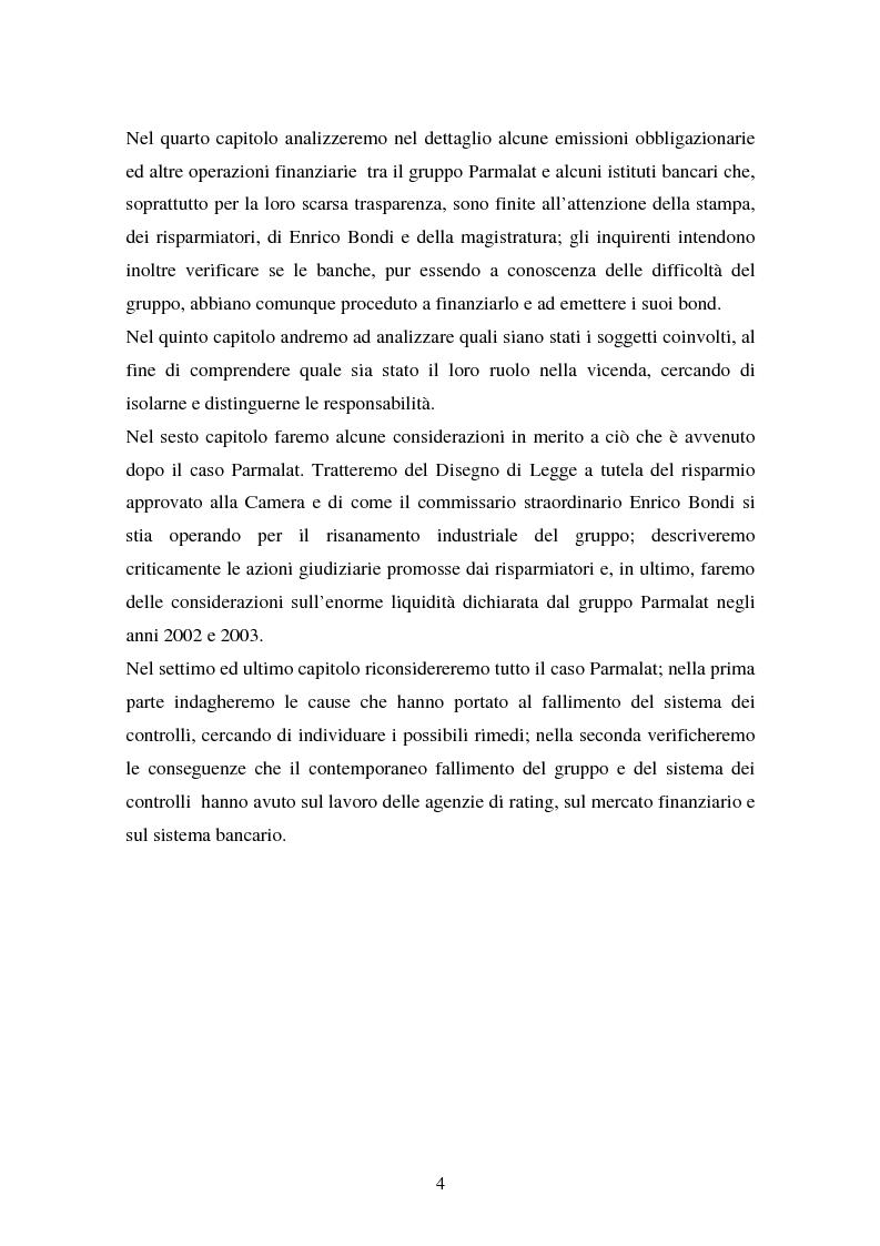 Anteprima della tesi: Il fallimento del sistema dei controlli interni ed esterni nel caso Parmalat, Pagina 4