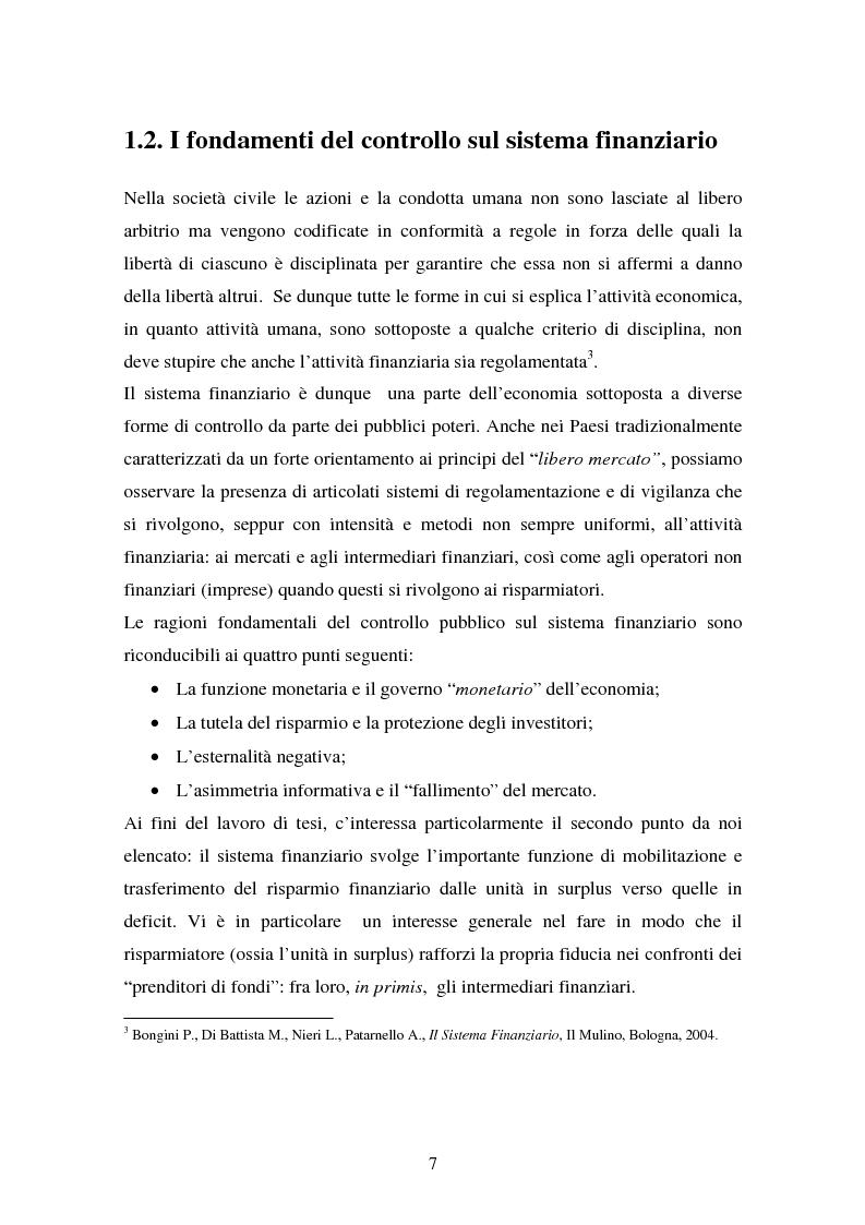 Anteprima della tesi: Il fallimento del sistema dei controlli interni ed esterni nel caso Parmalat, Pagina 7